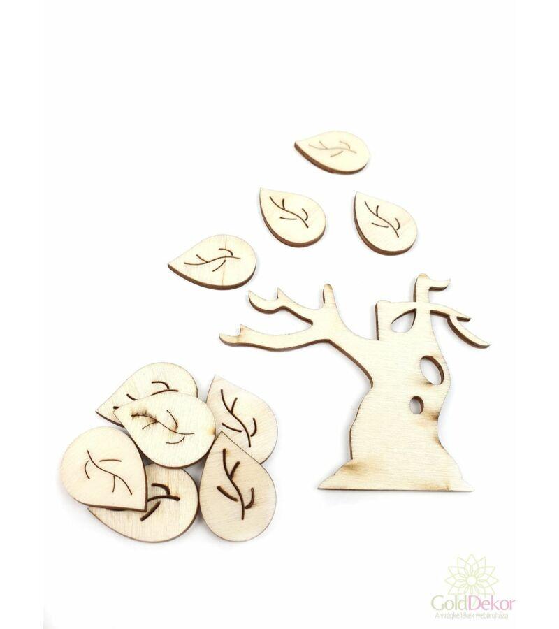 Natúr leveles fa szett 3