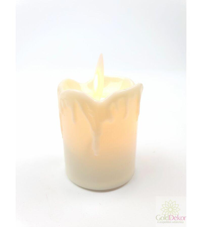 Led gyertya mozgó 5,5 cm