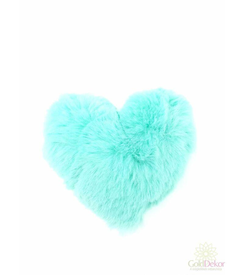 Plüss szív - Menta
