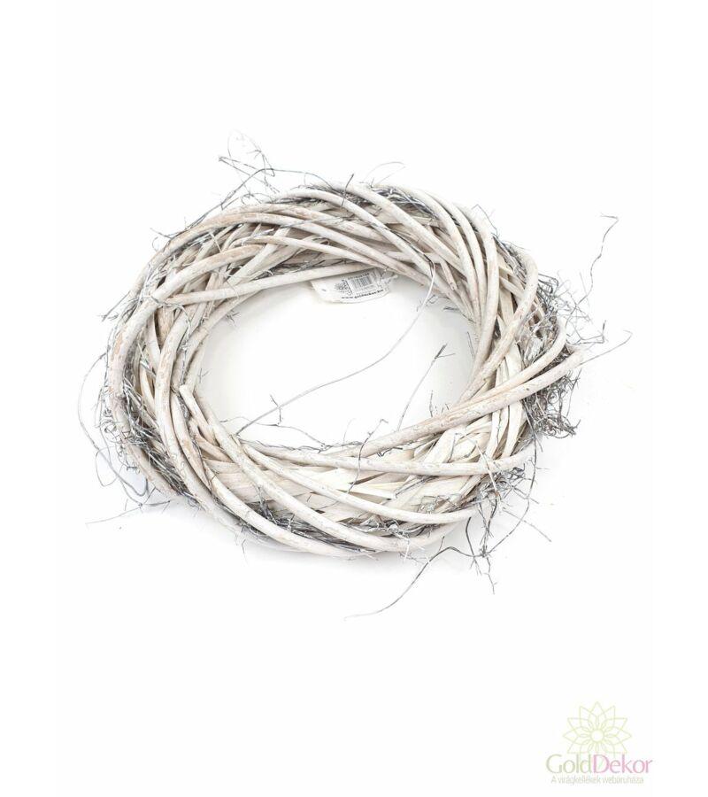 Iszalag vesszőalap - 26 cm hamvas
