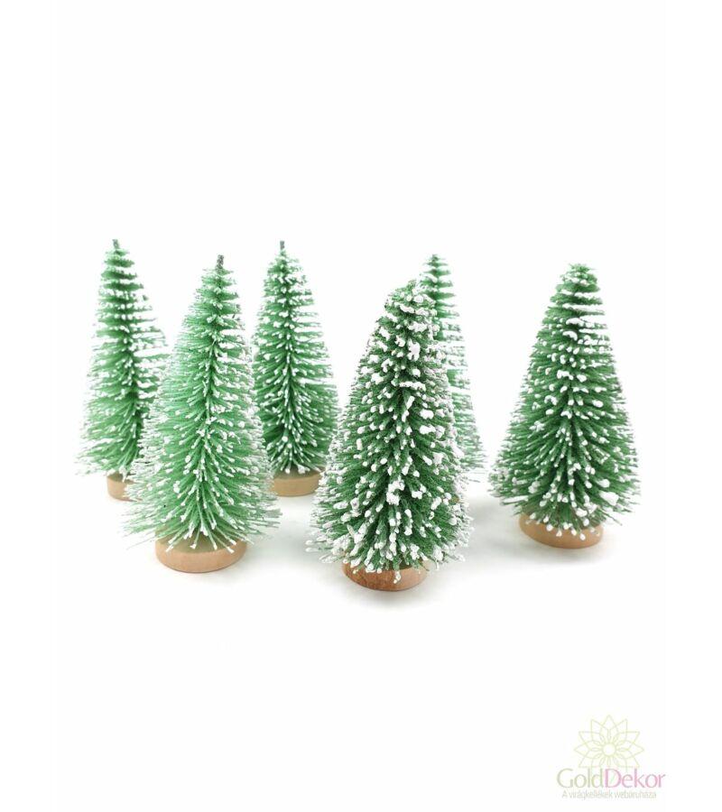 Talpas fenyőfa 8 cm*6 - Vil. Zöld
