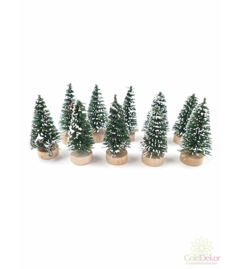 Talpas fenyőfa 4 cm*10 - Sötét zöld