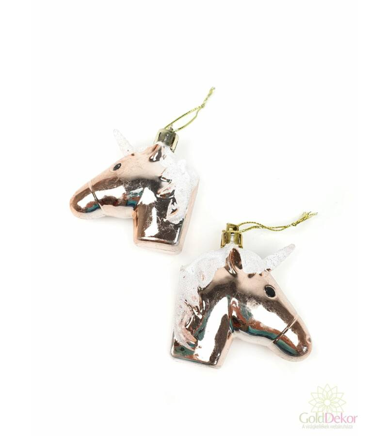 Akasztós unicornis *2 - Rosegold