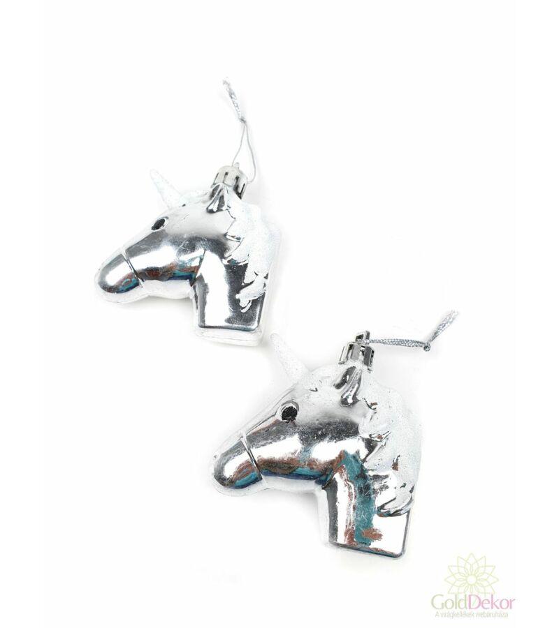 Akasztós unicornis *2 - Ezüst