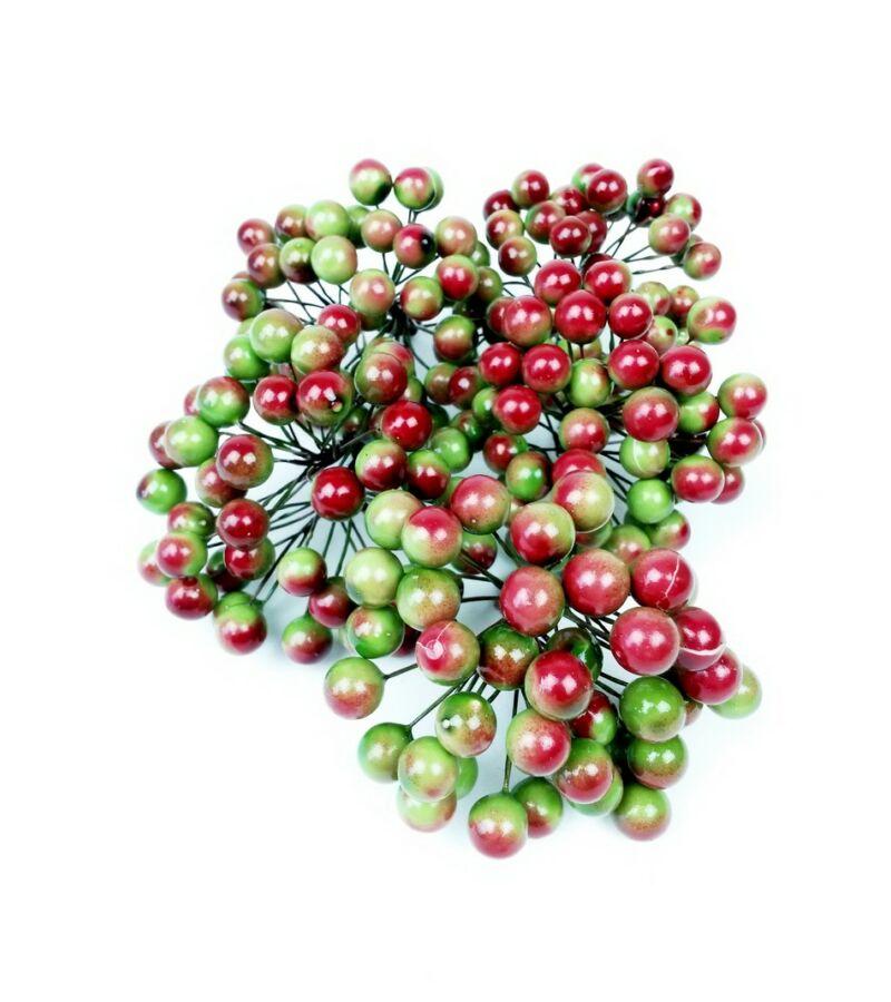 Drótos bogyó 1 cm - Zöld
