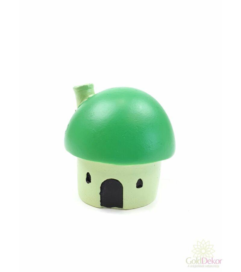 Gomba ház minimal - Zöld
