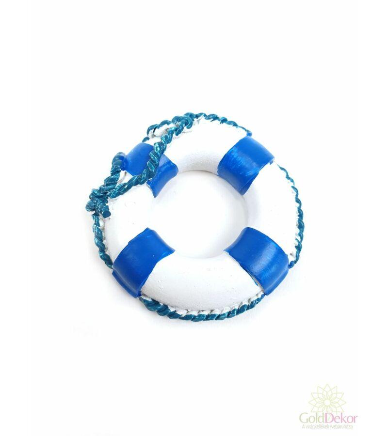 Csíkos mentőöv - Kék