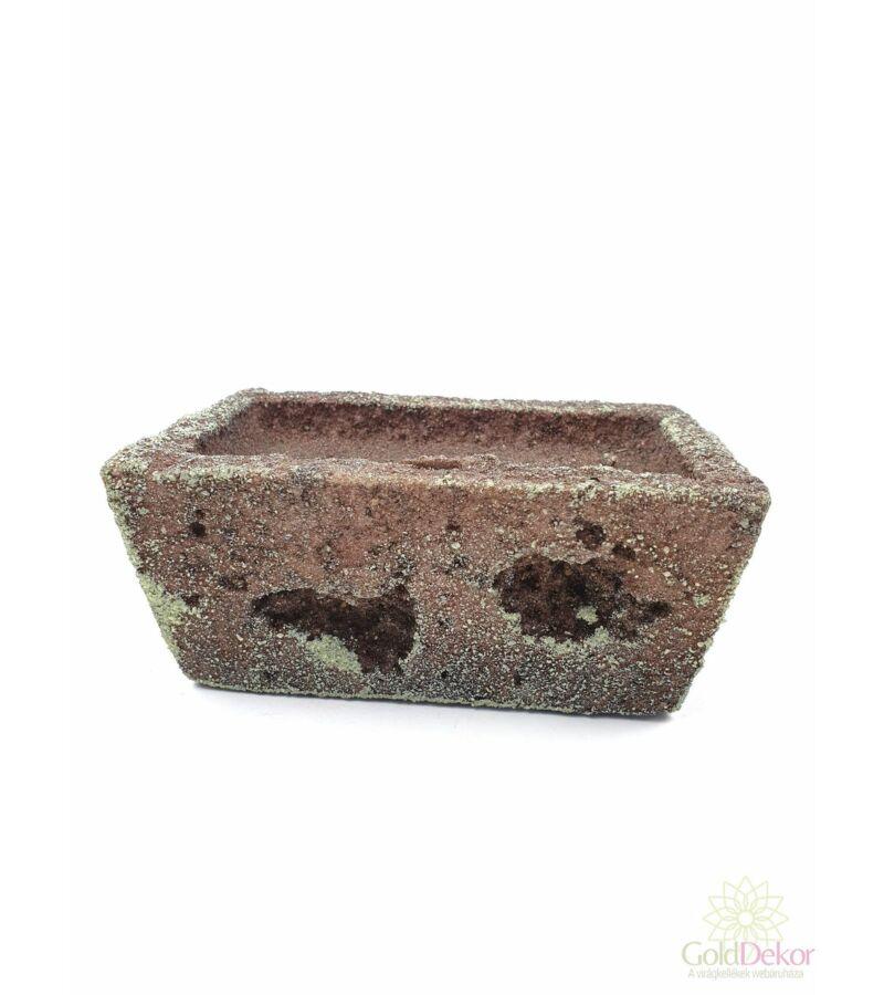 Tűzhető műkő kis tégla - Sötét barna