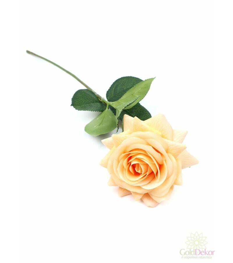 Real touch szálas rózsa - Barack