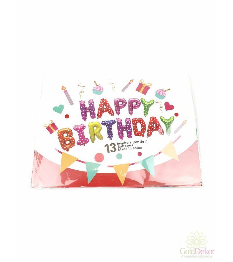 Happy Birthday lufi felirat - Mix