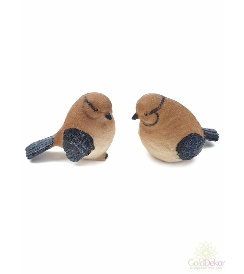 Duci barna madár figura