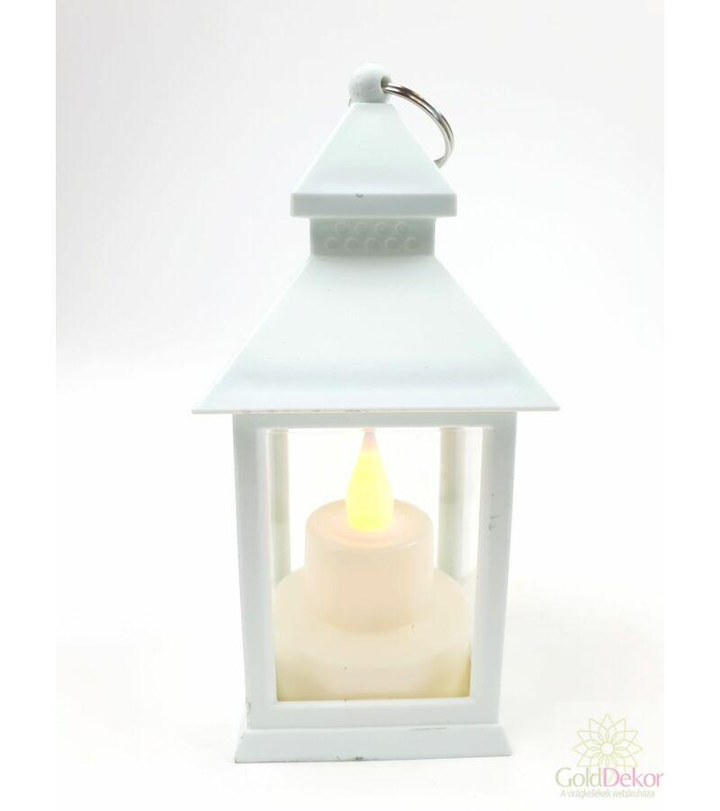 Led lámpás pagoda - Fehér