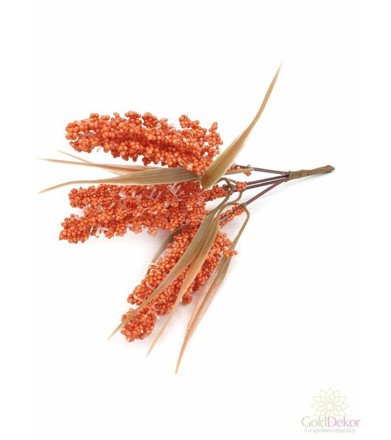 Színes kalász köteg*4 - Narancs