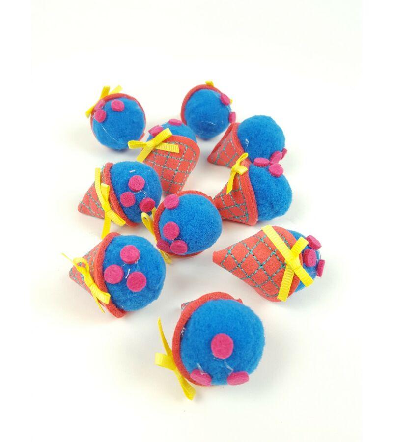 Textil fagyi - Kék