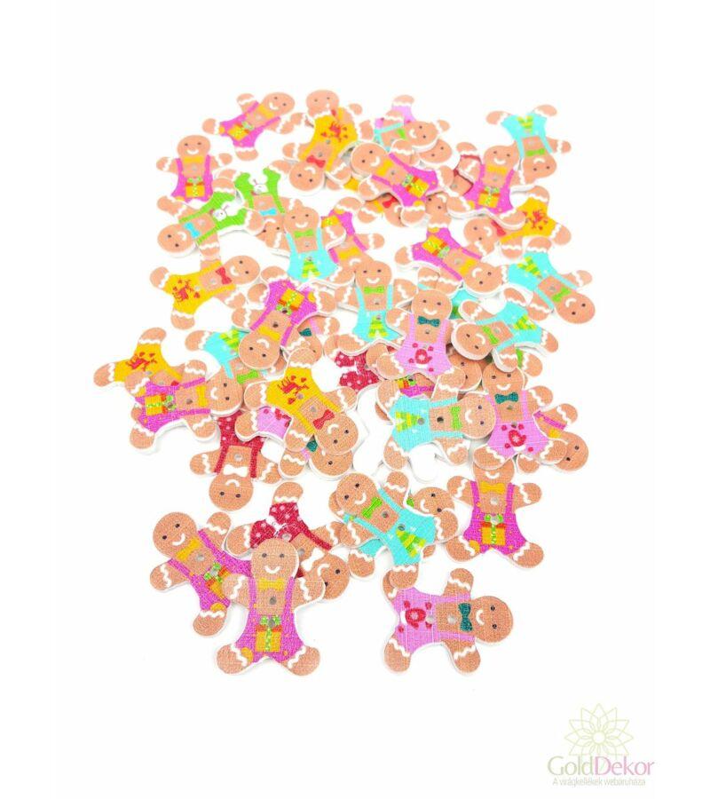 Karácsonyi gomb - Mézike
