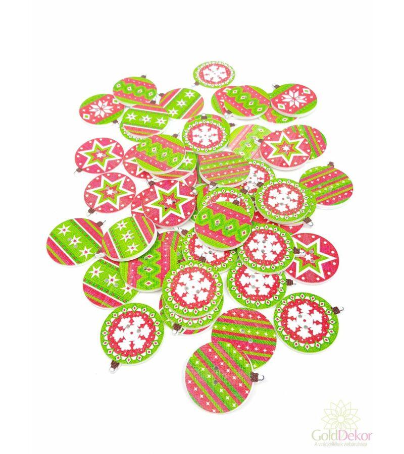 Karácsonyi gomb - Gömbök