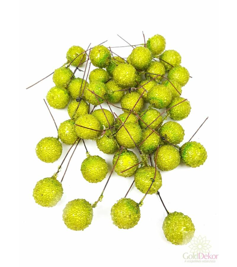 Drótos cukros bogyó zöld