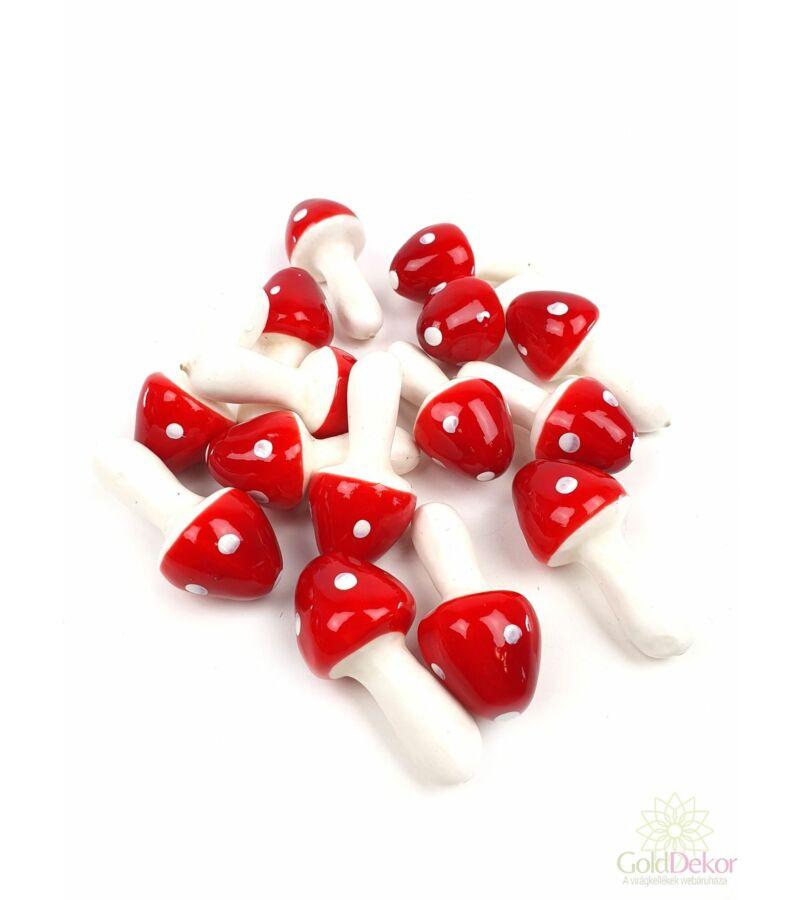 Csúcsos gomba - Piros