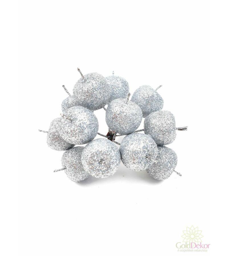 Glitteres alma pikk - Ezüst
