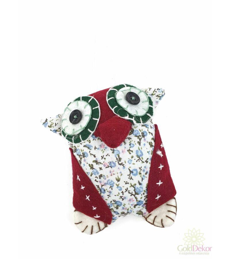 Textil bagoly figura