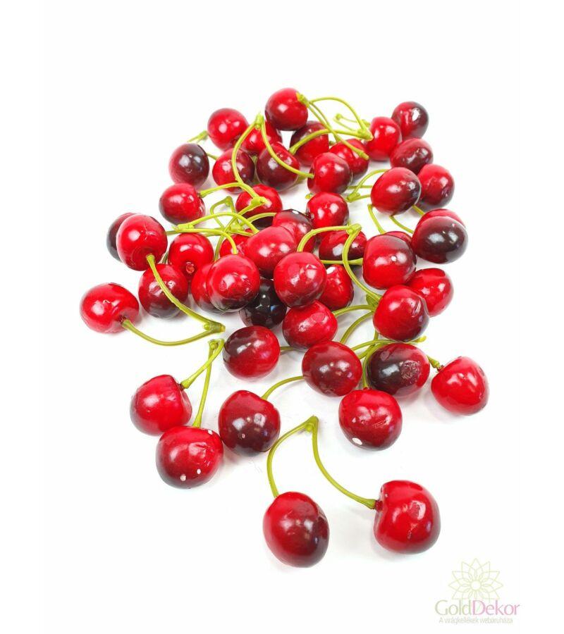 Mű cseresznye - Piros színátmenetes