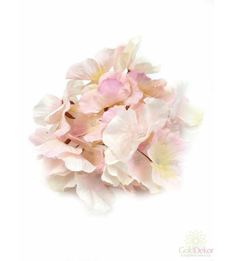 Hortenzia fej - Cirmos Rózsaszín