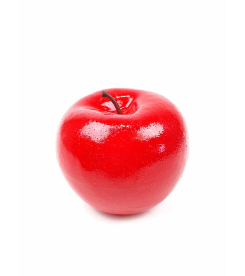 Műalma darabos - Piros