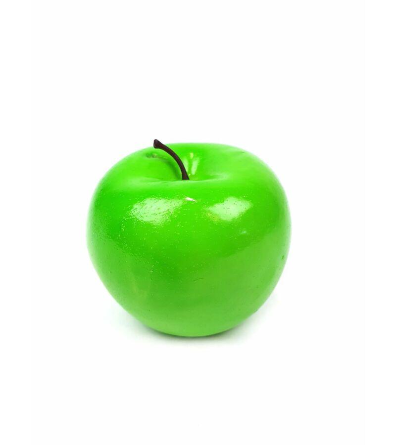 Műalma darabos - Zöld