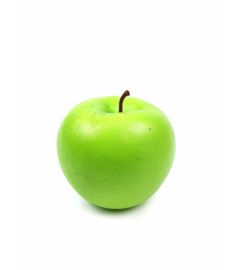 Műalma darabos - Világos Zöld