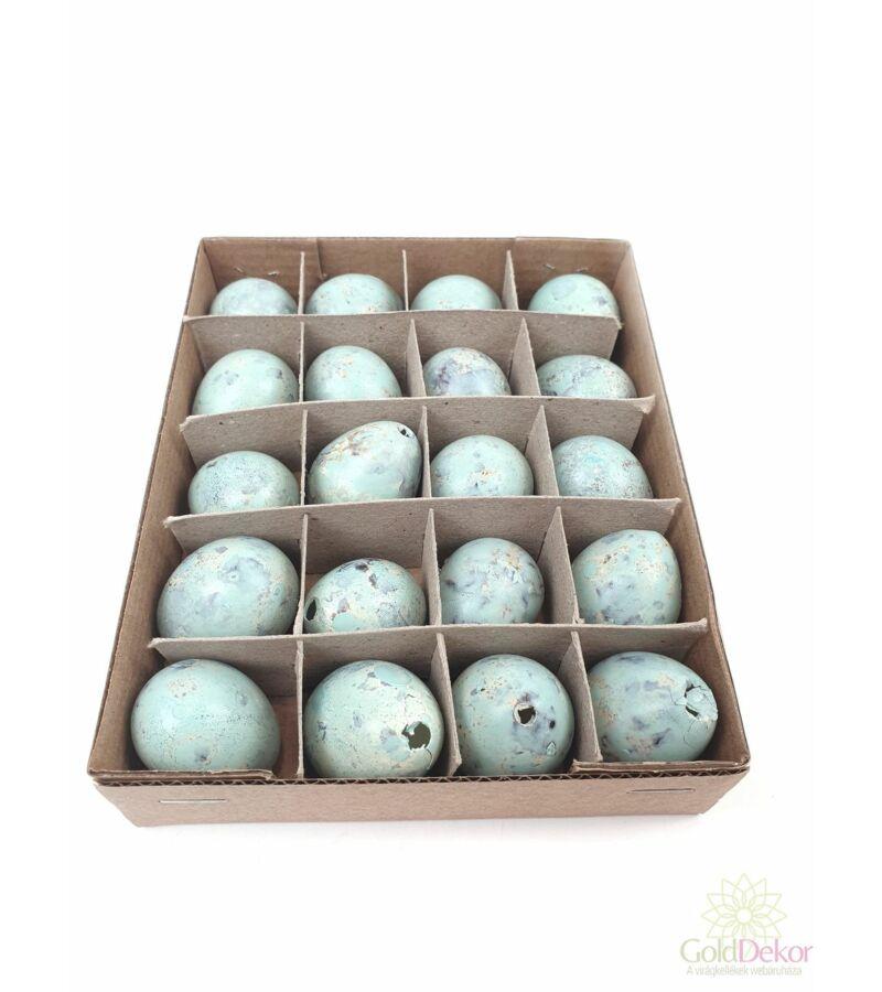 Színes fürj tojás*20 - menta