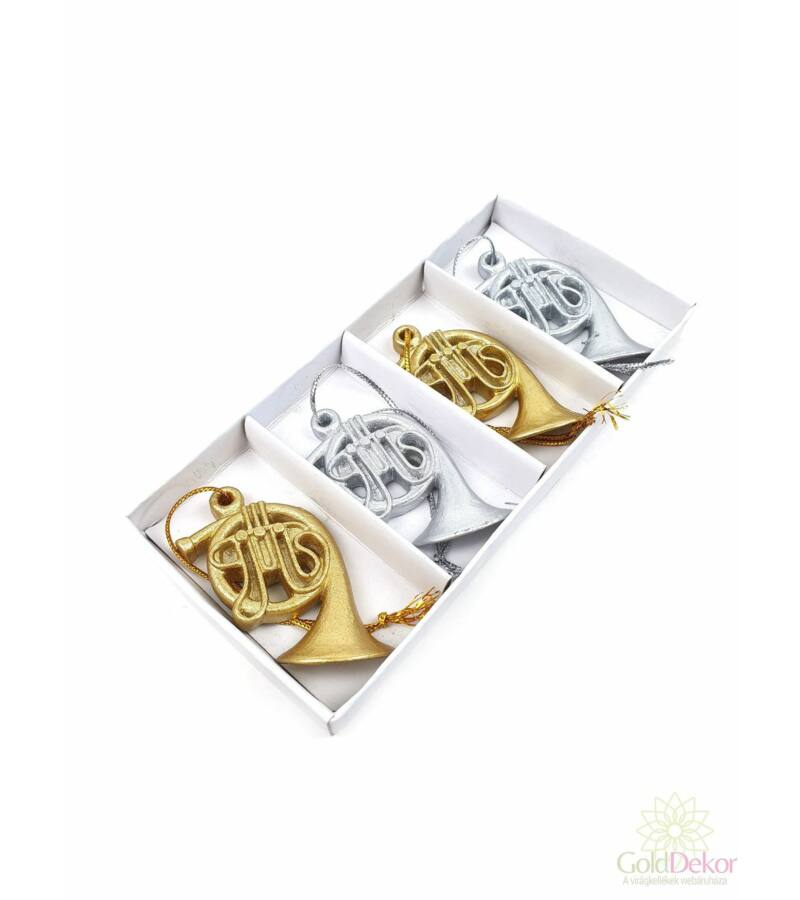 Arany-Ezüst trombita szett*4