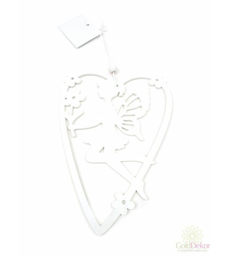 Virágtündér szívben - 5 szirmú virág