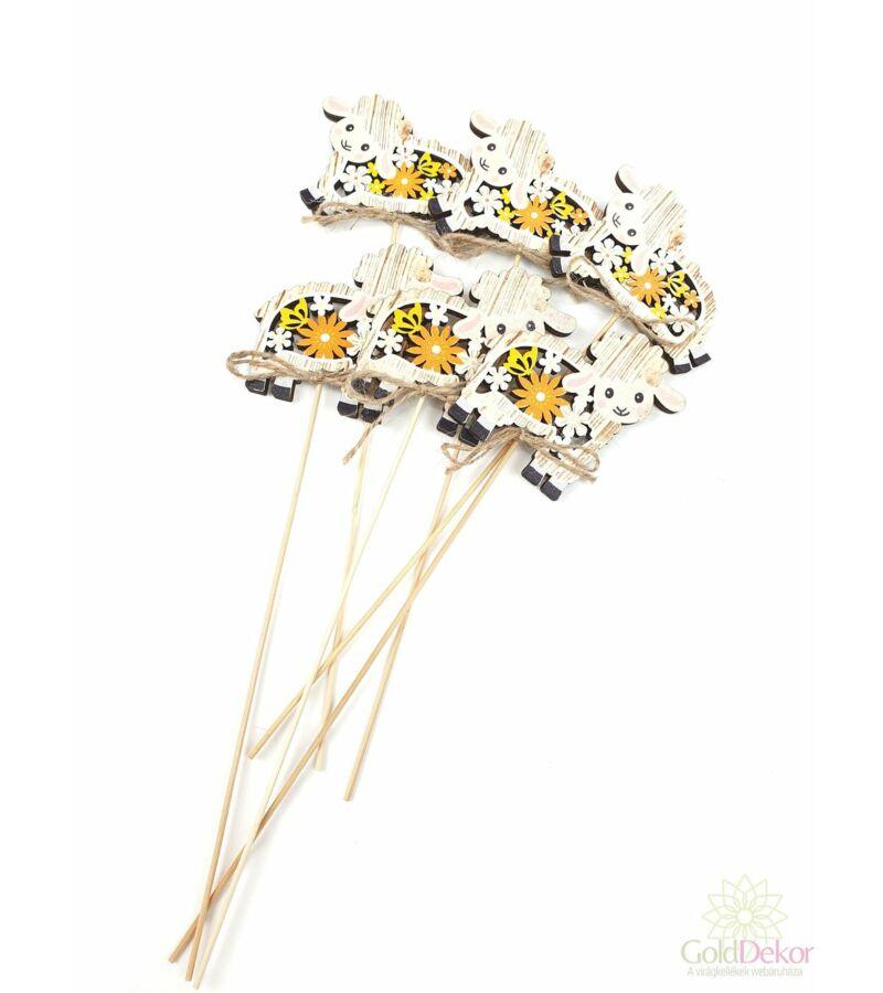 Virágmotívumos betűző - Bárány