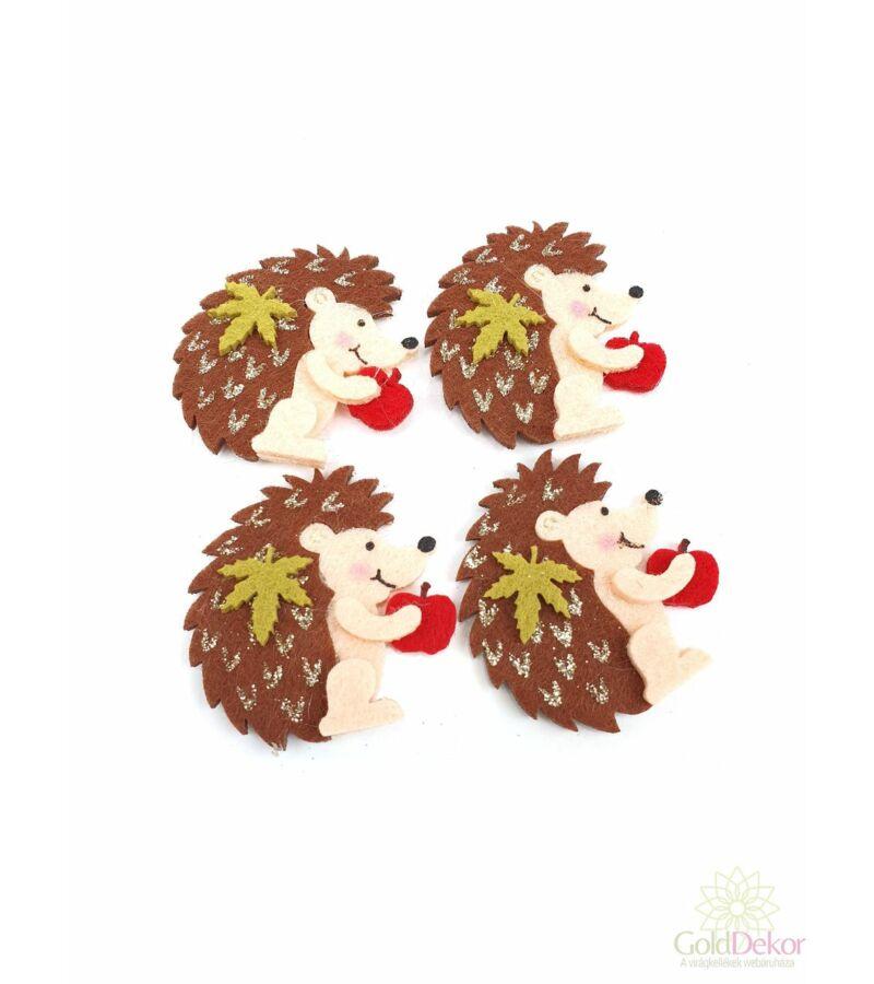 Öntapi filc süni almával - Barna