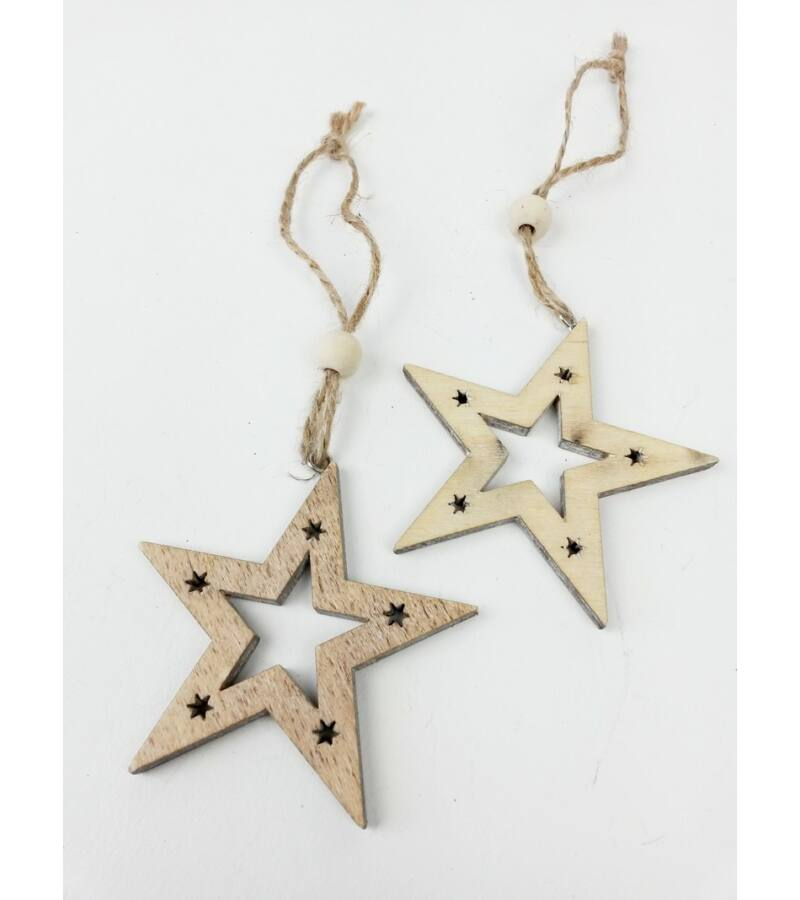 Csillagos fa csillag pár