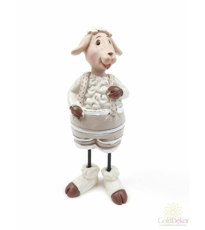 Álló bárány figura - Fiú