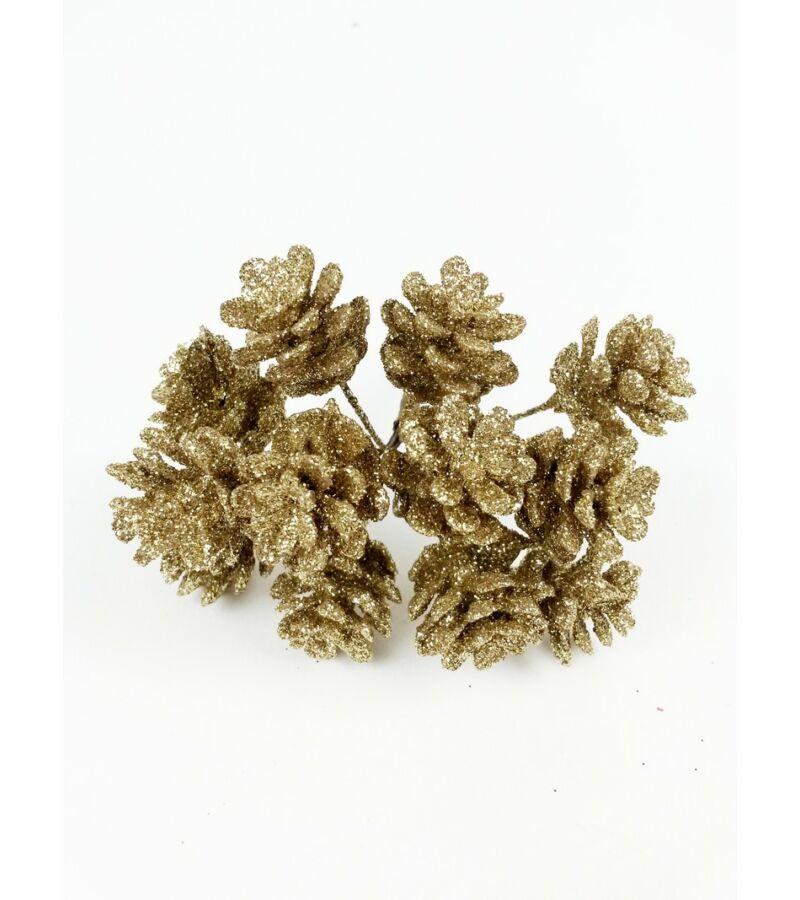Glitteres toboz pikk  - Arany