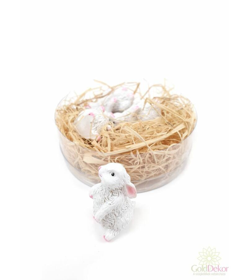Fehér nyuszik*4
