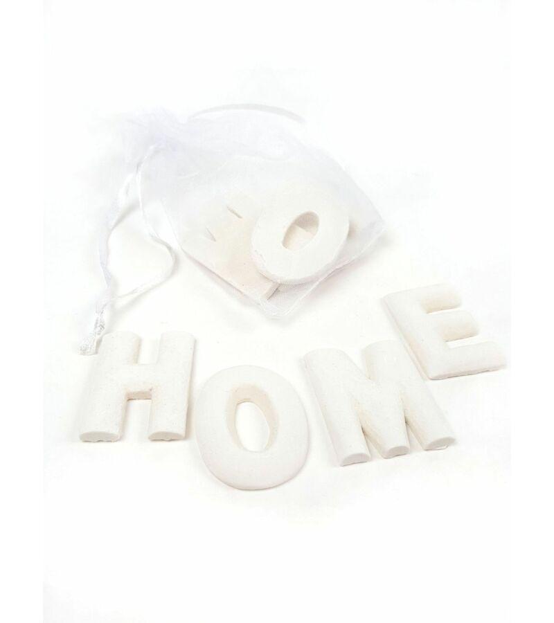 Polyresin betűk zsákban - HOME